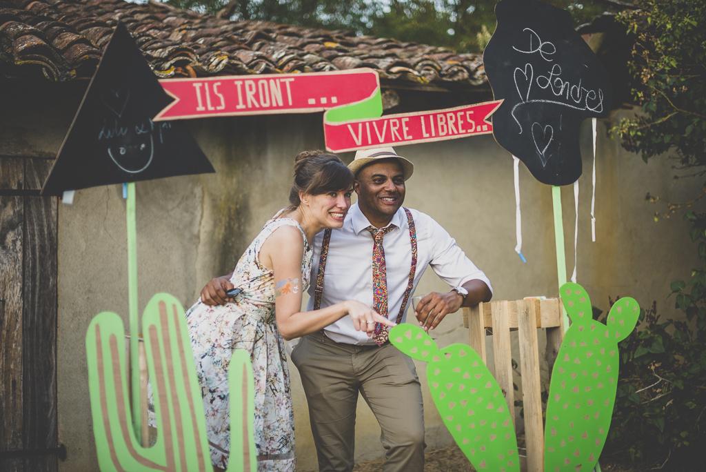 Reportage mariage Haute-Garonne - photobooth DIY - Photographe mariage