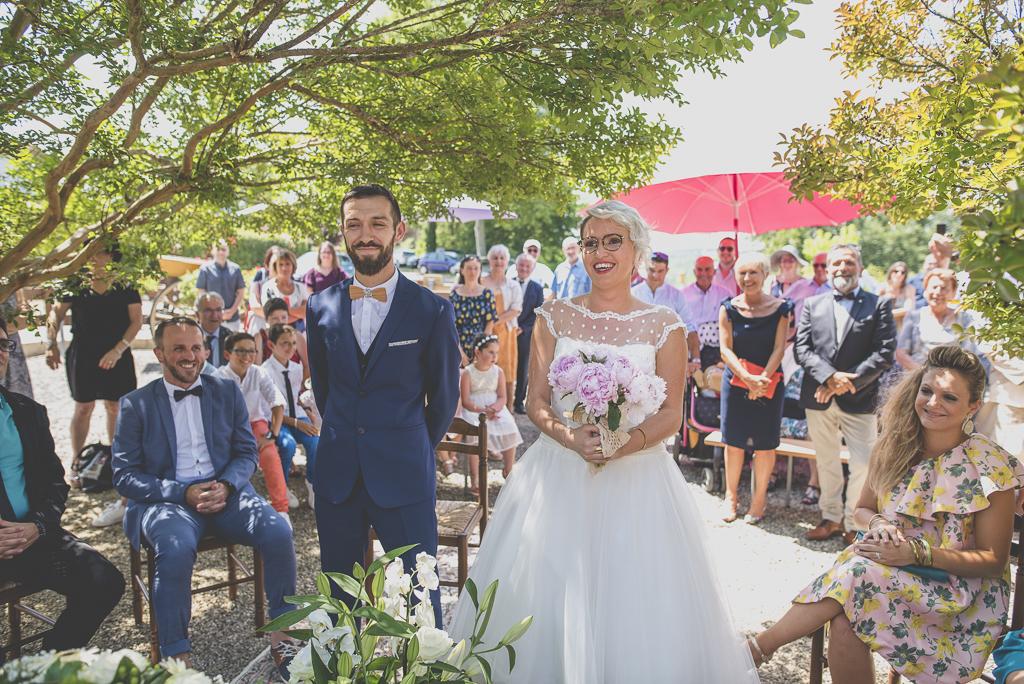Wedding Photography Haute-Garonne - cérémonie civile en extérieur - Wedding Photographer Saint-Gaudens