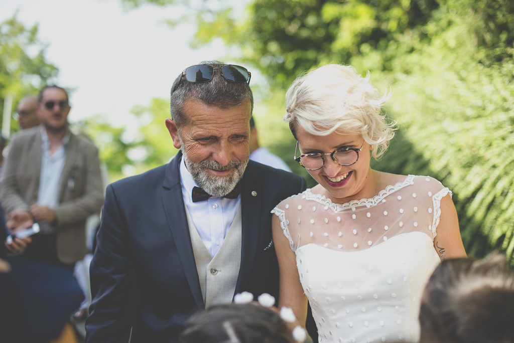 Wedding Photography Haute-Garonne - mariée et son papa - Wedding Photographer Saint-Gaudens
