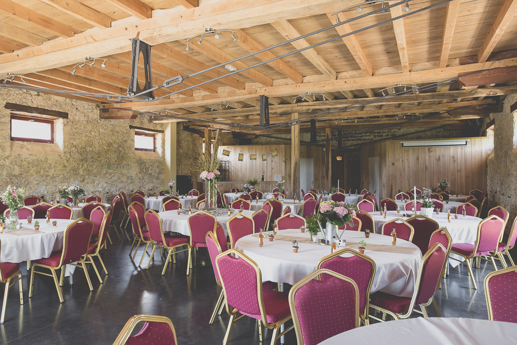 Wedding Photography Haute-Garonne - salle à manger pour mariage - Wedding Photographer Saint-Gaudens