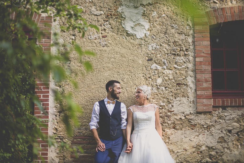 Wedding Photography Haute-Garonne - portrait des mariés - Wedding Photographer Saint-Gaudens