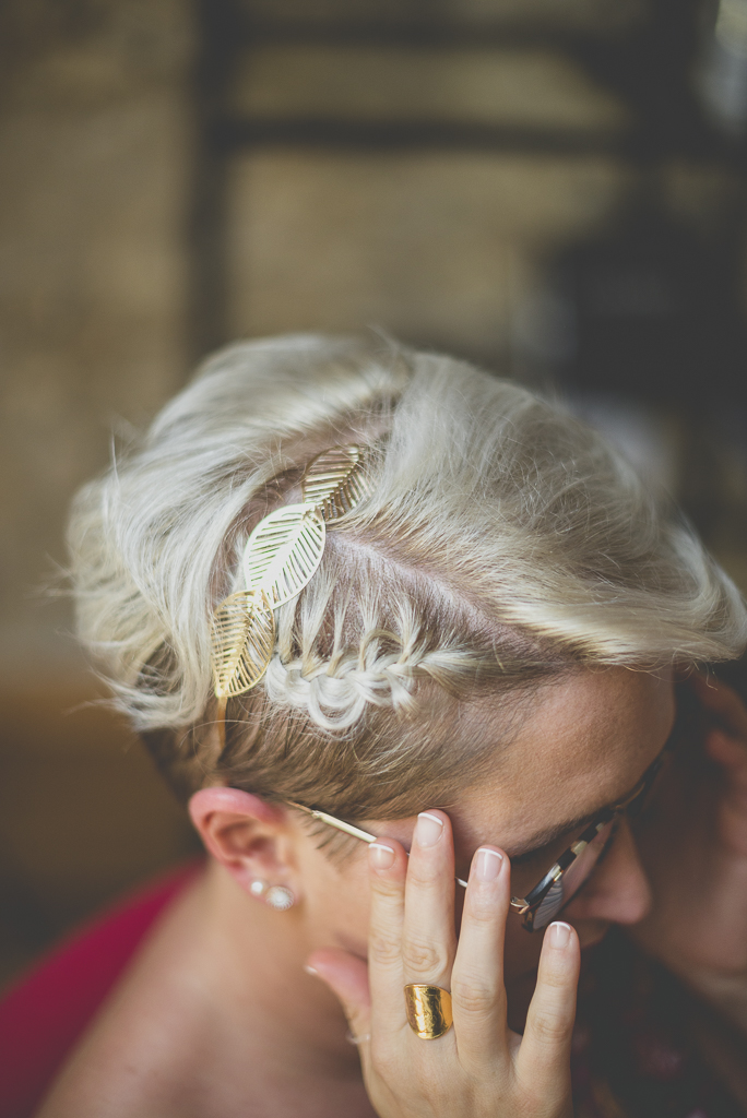 Wedding Photography Haute-Garonne - coiffure de la mariée - Wedding Photographer Saint-Gaudens