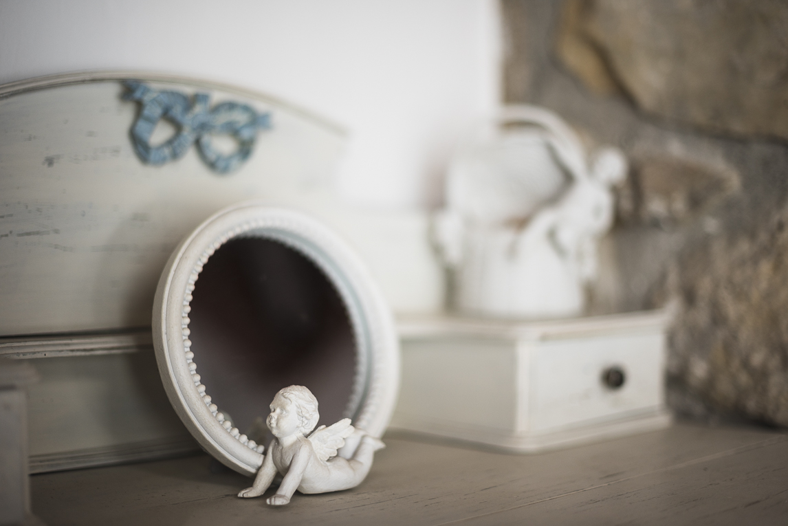 Séance photo chambres d'hôtes Ariège - décoration bureau - Photographe B&B