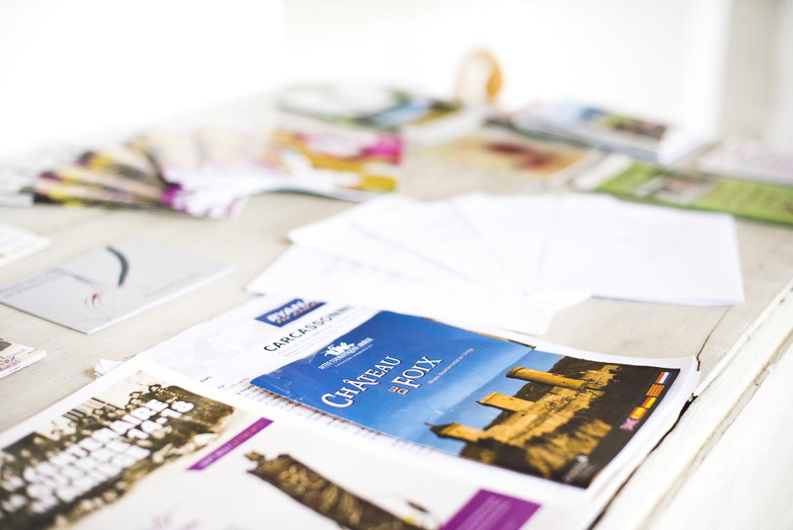 Séance photo chambres d'hôtes Ariège - brochures touristiques - Photographe B&B