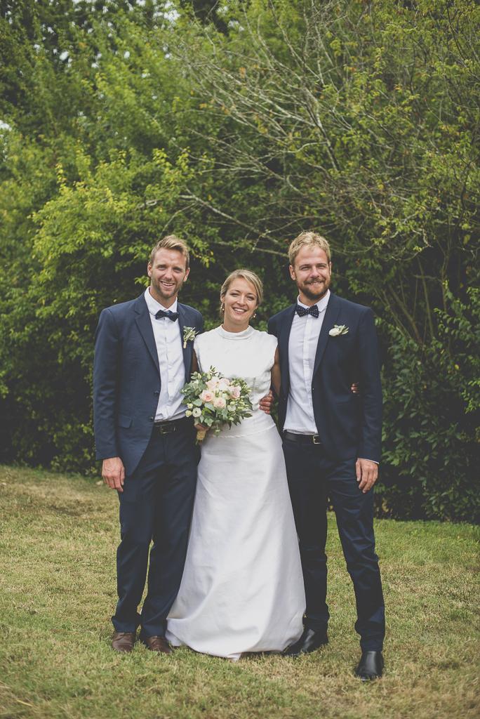 Reportage mariage Auch - Mariée et témoins - Photographe mariage Gers
