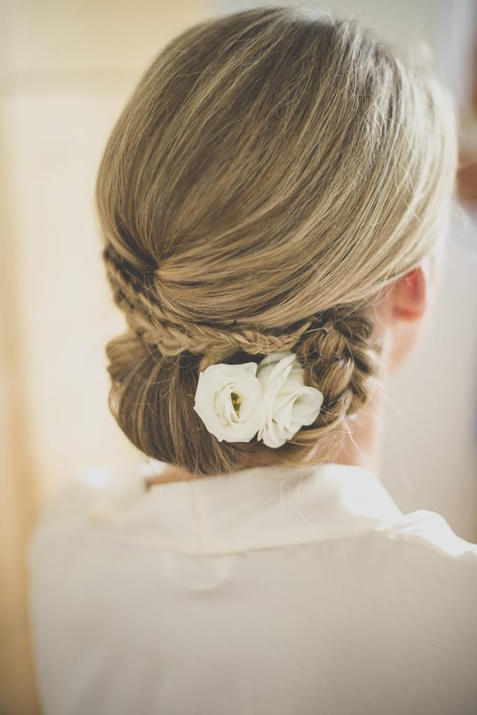 Reportage mariage Auch - Préparatifs de la mariée - coiffure de la mariée - Photographe mariage Gers