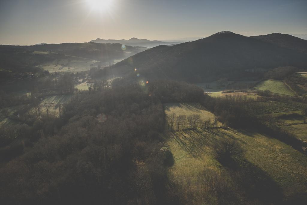 Photos vol montgolfière Haute-Garonne - champs et montagnes - Photographe Toulouse