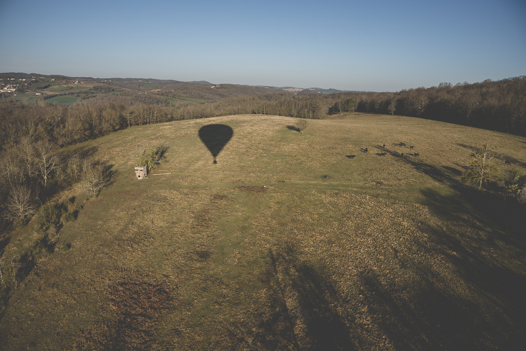 Photos vol montgolfière Haute-Garonne - champ - Photographe Toulouse