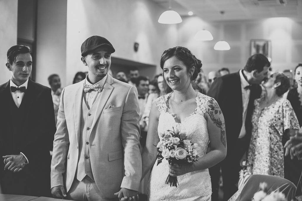 Reportage mariage automne Saint-Gaudens - cérémonie mairie - Photographe Saint-Gaudens