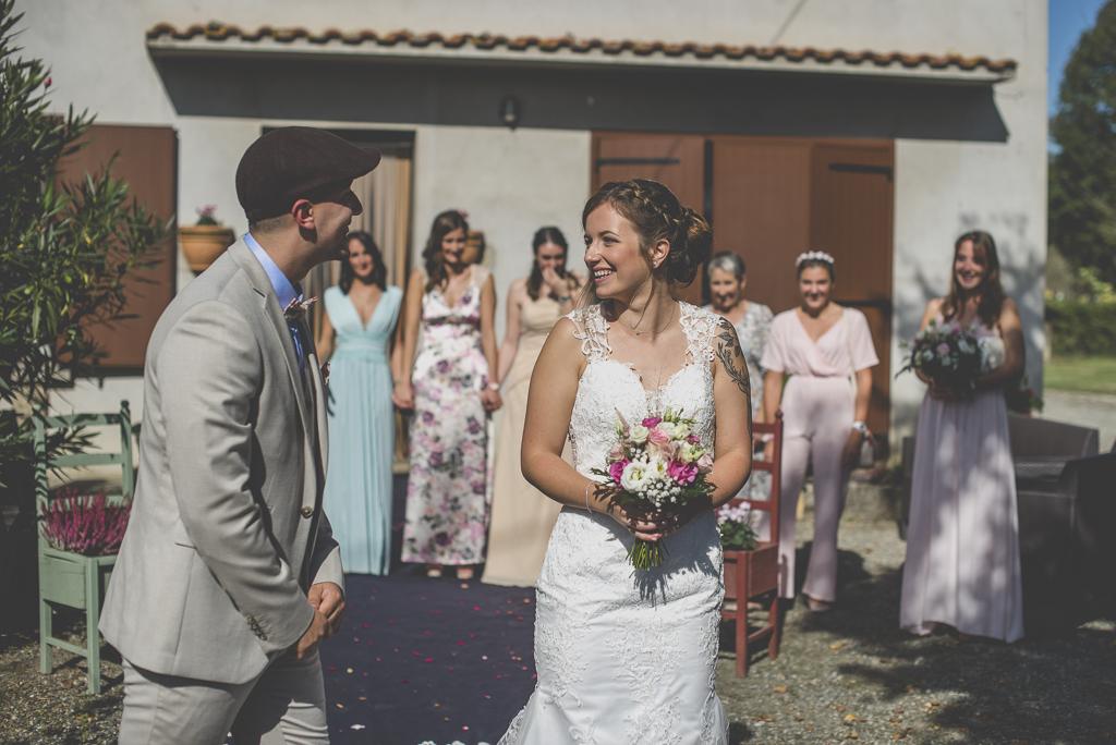 Reportage mariage automne Saint-Gaudens - découverte des mariés - Photographe Saint-Gaudens