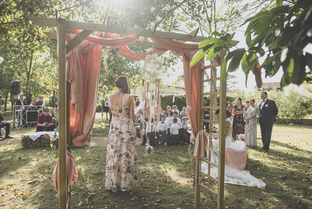 Reportage mariage automne Saint-Gaudens - ceremonie laique - Photographe Saint-Gaudens