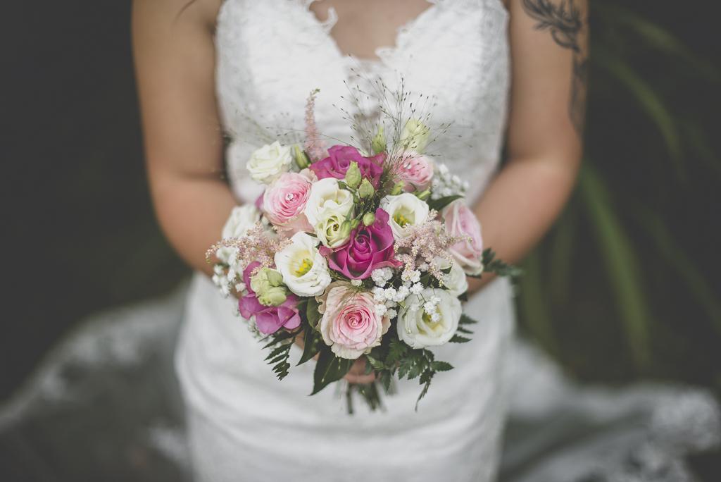 Reportage mariage automne Saint-Gaudens - bouquet de la mariée - Photographe Saint-Gaudens