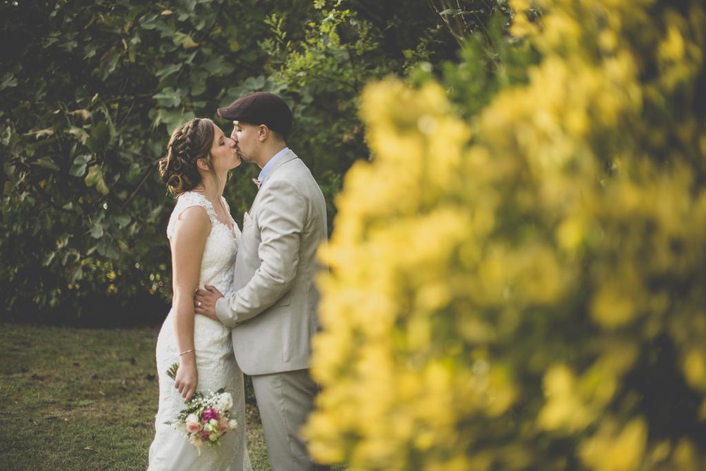 Reportage mariage automne Saint-Gaudens - portrait des mariés - Photographe Saint-Gaudens