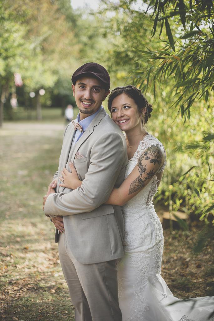 Reportage mariage automne Saint-Gaudens - portraits des mariés - Photographe Saint-Gaudens