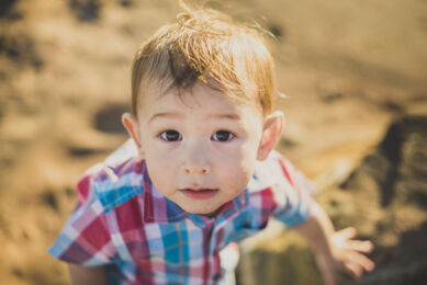 rozimages - family photography - beach session - portrait of little boy - Reddell Beach, Broome, Australia