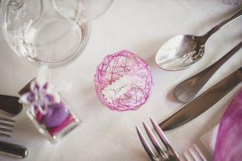 Reportage mariage Toulouse - décoration de table - Photographe mariage